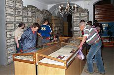Výročí 490 let Zlaté stoky - státní archiv v Třeboni.