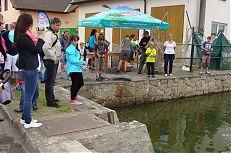Možnost zkusit si lov živých ryb na udici na sádkách