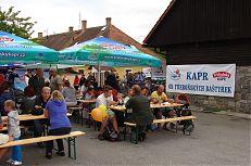 Návštěvníci  Sádek v Třeboni o Rybářských slavnostech 2014