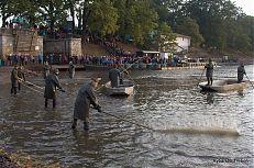Plašení ryby při zátahu