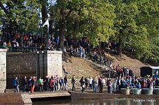 Návštěvníci výlovu Rožmberka 2016